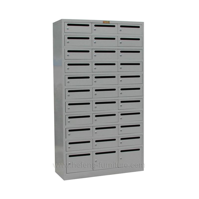 Metal letterbox