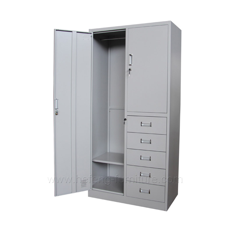 Metal Cabinet With 5 Drawers